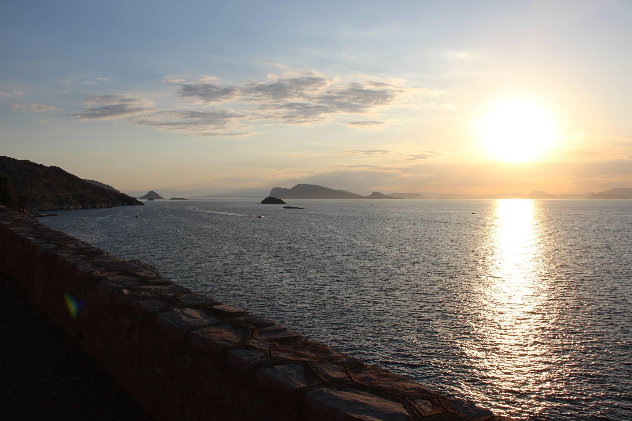 Путешествие на яхте по Греческим островам 2015