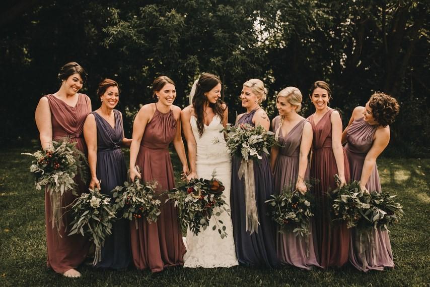 Платья подружек невесты: о тенденциях, деньгах и истории