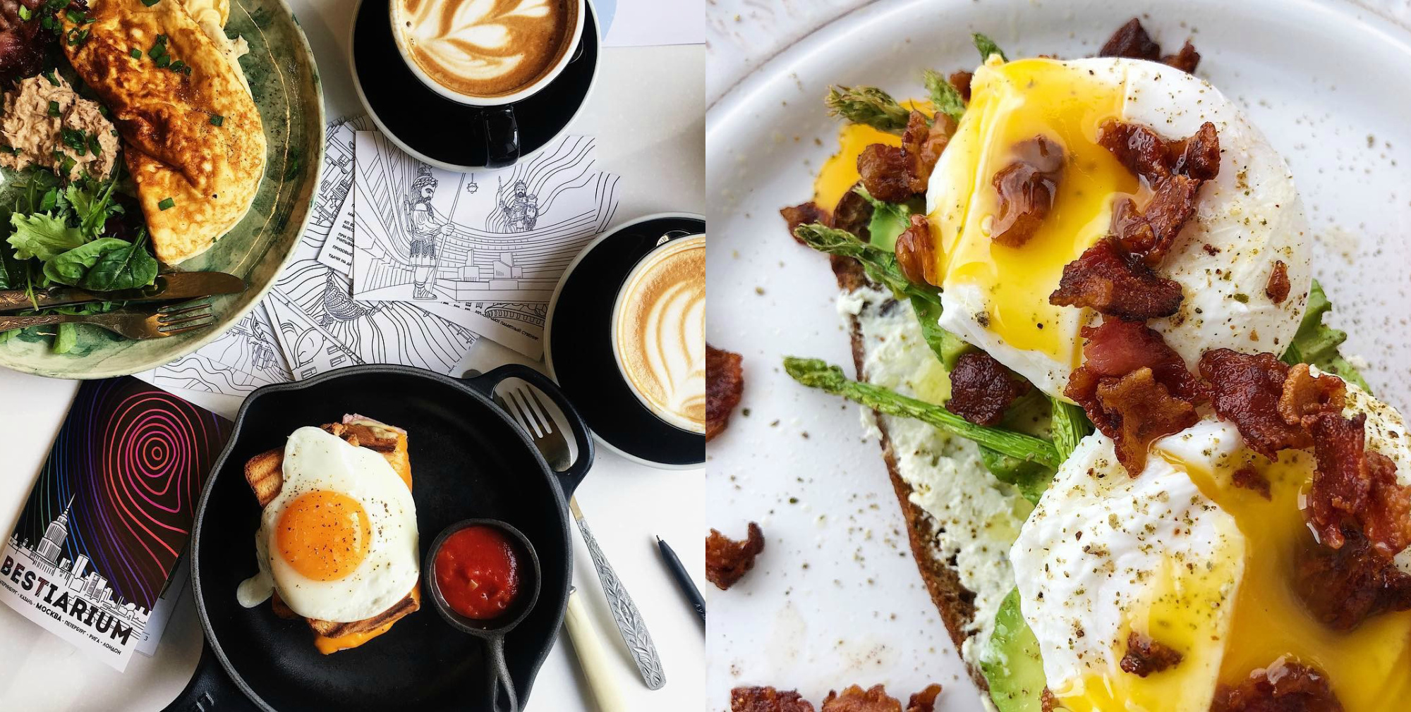 Девушки и их проекты: Света и Полина о завтраках Eggsellent