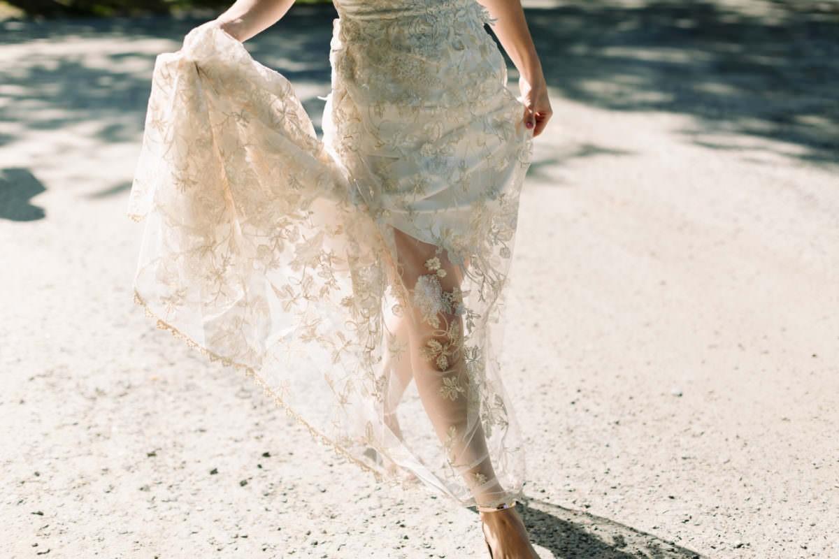 Как подобрать белье под свадебное платье?