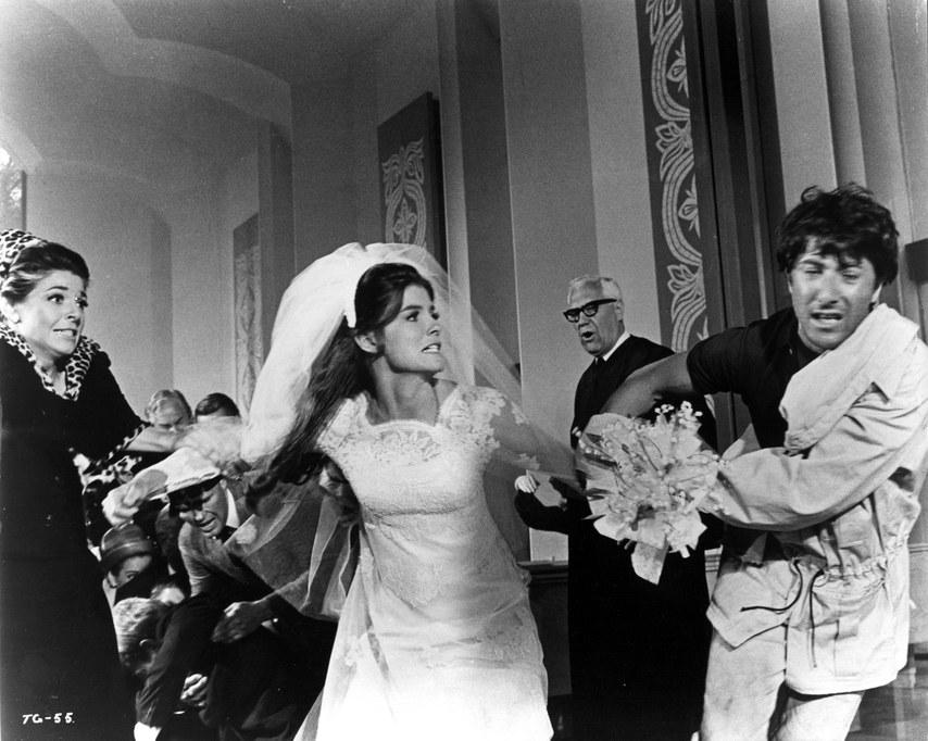 Свадебные сцены в любимых фильмах: «Сумерки», «Выпускник» и ромкомы нулевых