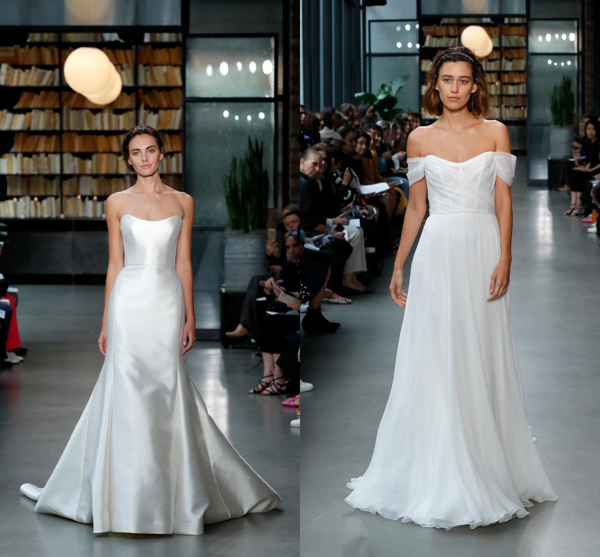 Что показали на неделе свадебной моды в Нью-Йорке?
