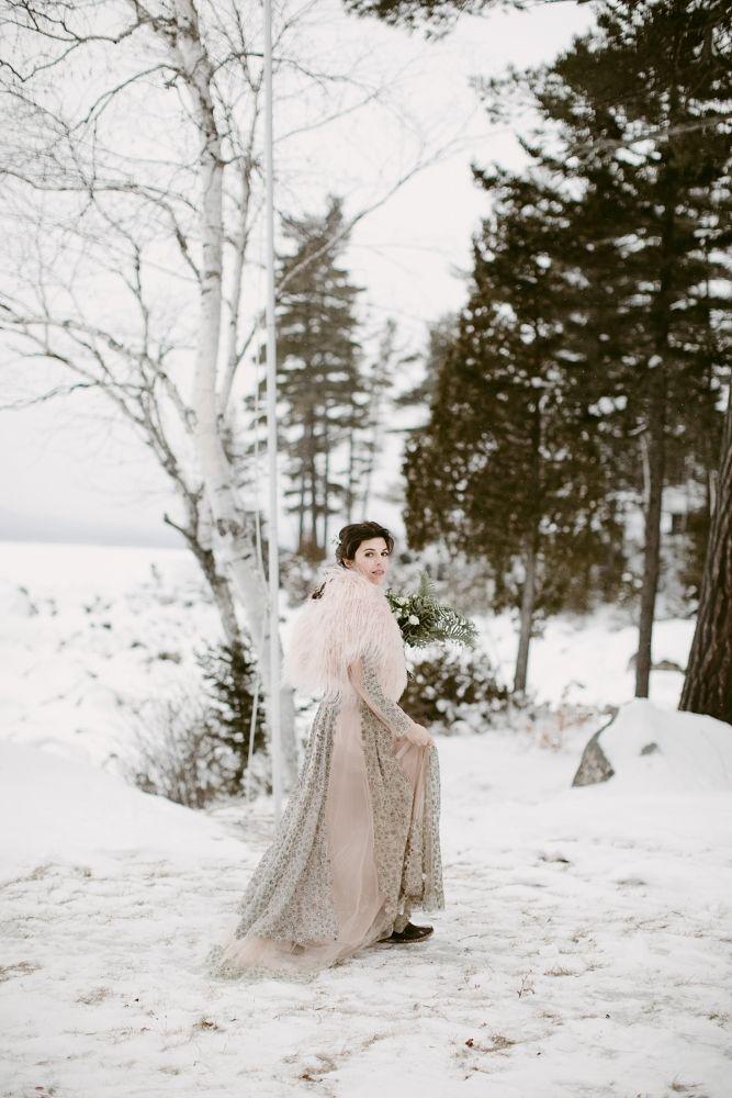 Зимние свадьбы: 5 вдохновляющих примеров