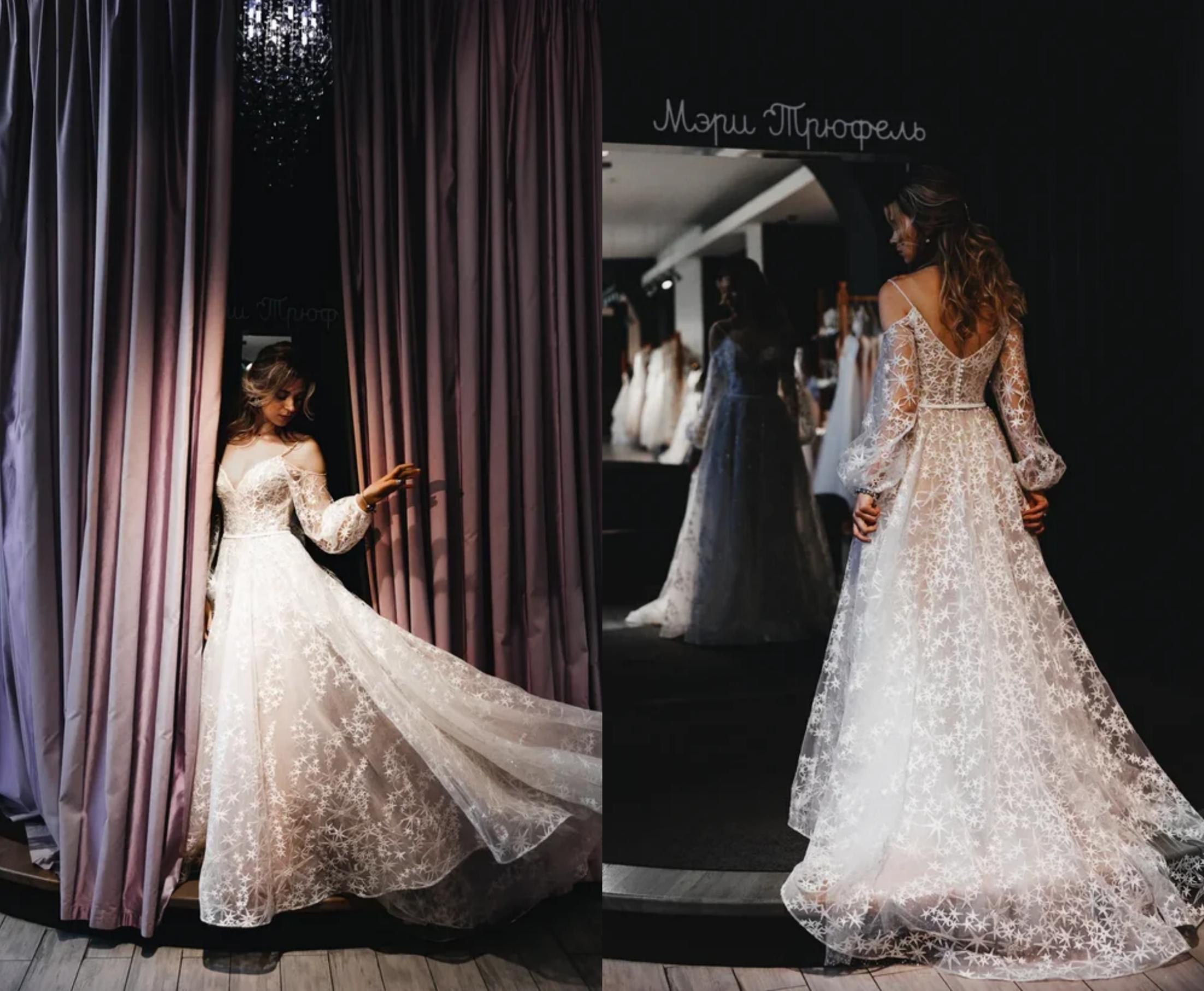 Невесты «Мэри Трюфель» рассказывают, как они нашли свои платья