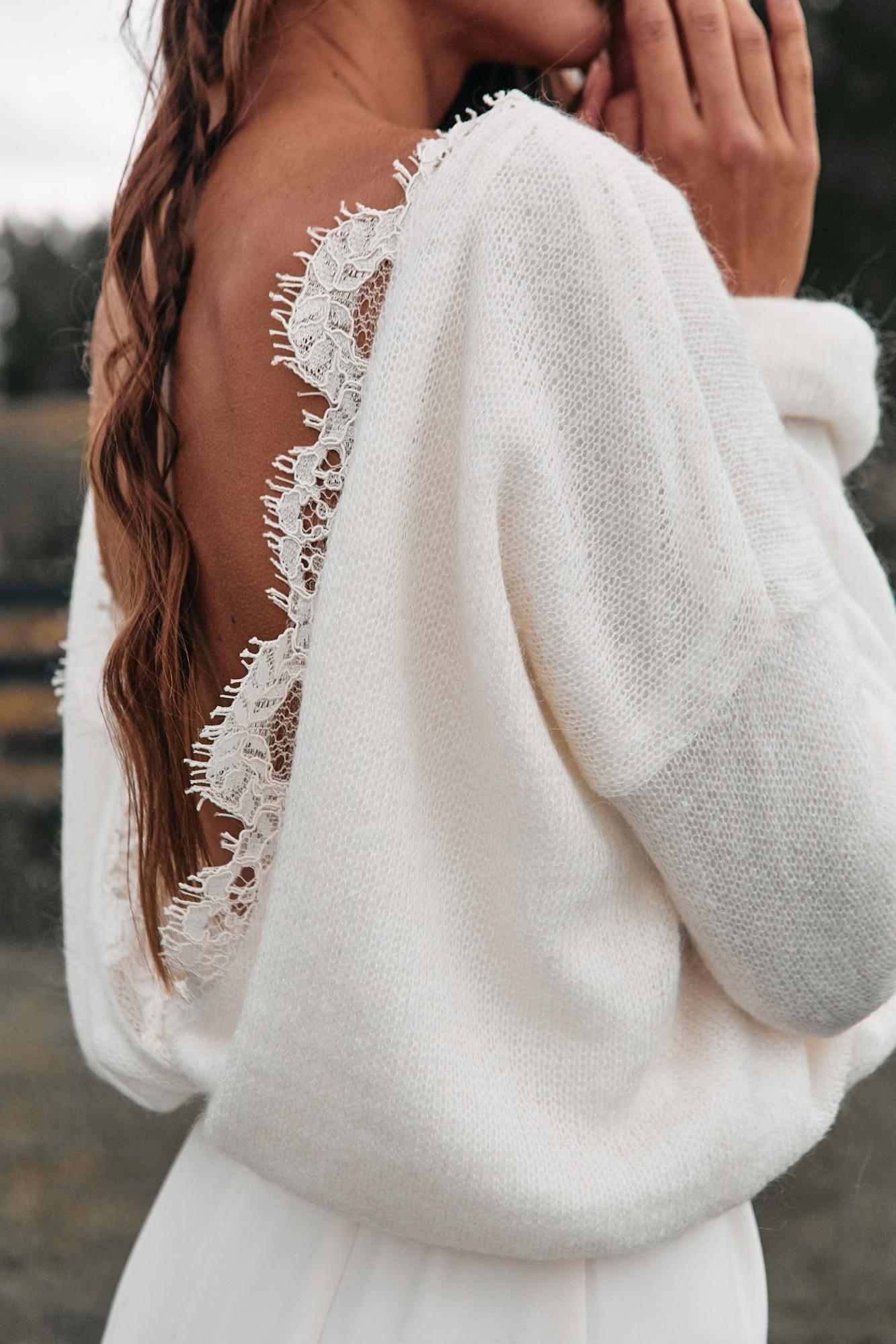 Будет тепло: свитера, кардиганы и жакеты