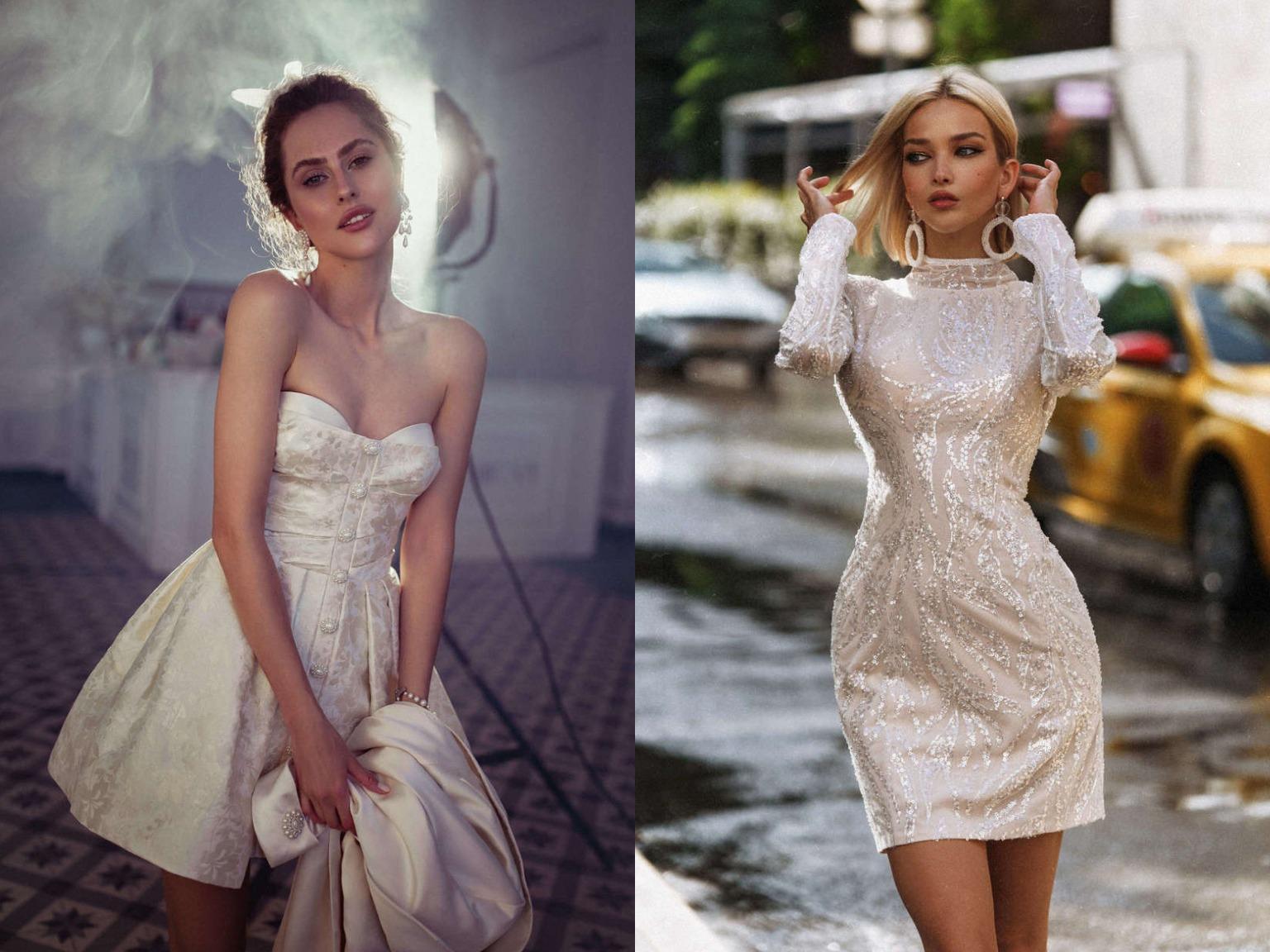 Тренды 2021 года в свадебных платьях